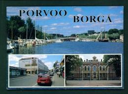 FINLAND  -  Porvoo-Borga  Used Postcard - Finland