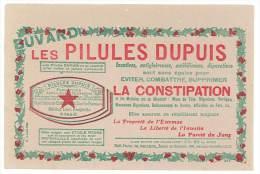 Buvard Les Pilules Dupuis (combattre La Constipation) ( Pharmacie, Ch. Bailloeuil, Docteur, Lille ) - Produits Pharmaceutiques