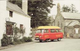 Post Office Postcard Llandovery Commer Postbus Myddfal Village Powys Royal Mail - Postal Services