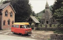 Post Office Postcard Llandrindod Wells Commer Postbus Abbey Cwmhir Royal Mail - Postal Services