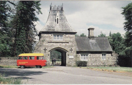 Post Office Postcard Usk Bettws Newydd Commer Postbus Llanarth Raglan Royal Mail - Postal Services