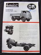Camion Fourgon LEONCINO OM Brescia Milan Suzzara - Trucks