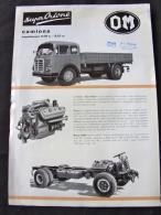Camion  SUPER ORIONE OM Brescia Milan Suzzara - Trucks