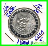 ALEMANIA  - BRD  - MONEDA DE 10 DM  PLATA  S/C  AÑO 2000-F  PROOF - [10] Conmemorativas