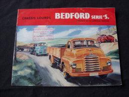 Catalogue Pour Les Camion BEDFORD Serie S - Camions