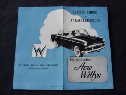 Aero Willys En Deux Volets - Voitures
