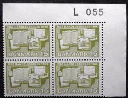 Denmark 1965 Denmark´s First Trade School / Dänemarks Erste Berufsschule  Minr.426y  MNH (**) Cz.Slania  ( Lot  L 843  ) - Nuovi