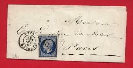 Pli Alençon (Orne) PC 45 - 1856 - 1849-1876: Période Classique
