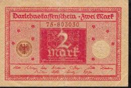 GERMANY P59  2  MARK  1920    XF-AU - [ 3] 1918-1933 : República De Weimar