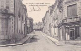 SILLE LE GUILLAUME GRANDE RUE PARTIE HAUTE COMMERCE TERMEAU 72 - Sille Le Guillaume