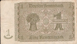 GERMANY P173b 1 RENTENMARK  3.1.1937 Letter L    F-VF - Altri