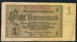 GERMANY P173b 1 RENTENMARK  3.1.1937 Letter M   F-VF - Altri