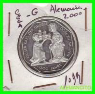 ALEMANIA  - BRD  - MONEDA DE 10 DM  PLATA  S/C  AÑO  2000-G  PROOF - [10] Conmemorativas