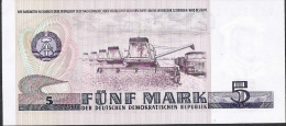 GERMANY DEMOCRATIC REPUBLIC P27c  5  MARK  1975 Letter UI  UNC. - 5 Mark