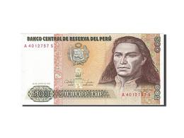 Peru, 500 Intis, 1987, KM:134b, 1987-06-26, SPL - Pérou