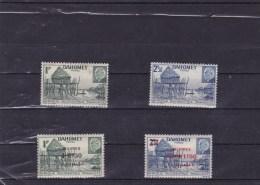 DAHOMEY : Village Lacustre  : Y&T : * :149*-150*-153*-154* - Dahomey (1899-1944)