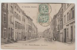 CPA PONT A MOUSSON (Meurthe Et Moselle) - Rue Pasteur - Pont A Mousson