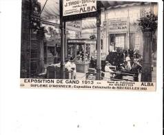 GENT EXPO 1913 ALBA FABRICATION DE CIGARETTES - Gent