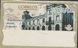 Etiquetas Autoadhesivas ATM 070 ** Logroño. 2002 Sin Valor - Marcophilie - EMA (Empreintes Machines)