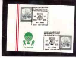 AU205   -    DORNBIRN  31.1.1990    /      150 JAHRE POSTAMT DORNBIRN - Post