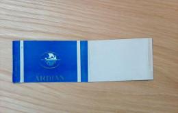 Old Empty Flattened Cigarette Pack ARDIAN - Albania 1960´s - Schnupftabakdosen (leer)