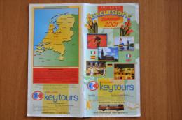 Tourism Brochure Holland  2001 - Dépliants Touristiques