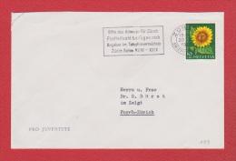 Suisse --  Env Départ Zurich  1961 - Covers & Documents