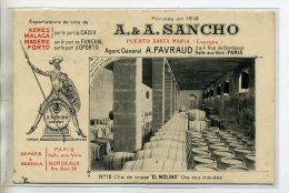 ESPAGNE EL PUERTO DE SANTA MARIA Vins Fins A-A SANCHO  D'espagne Et Portugal  Chai De Vinage EL MOLINO  /D03-2016 - Unclassified