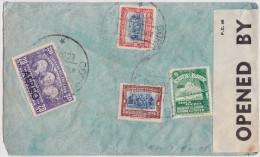 ECUADOR - EQUATEUR - AIR MAIL COVER 1940 QUITO TO LONDON - CORREO AEREO - MILITARY CENSOR WW2 - BANDE DE CENSURE - Equateur