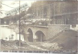 Doubs : Rare, Ligne Frasne-Vallorbe, Retirage Photo, Le Pont Du Mont La Croix, Bien Lire Le Descriptif - Reproductions