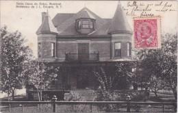 MONTREAL - Notre Dame De Grâce - Résidence Du J.L. Décarie, M.P. - Daté 1908 - 2 Scanns - Montreal