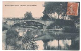 CP MONTCRESSON LE PONT SUR LE CANAL ( Loiret 45) CACHET MONTCRESSON  1927 - Autres Communes