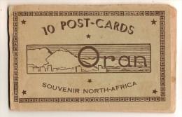 ALGERIE - ALBUM DE 10 CARTES POSTALES D'ORAN - Oran