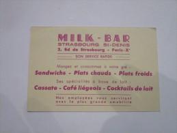 MILK-BAR  Strasbourg St-Denis - 2, Boulevard De Strasbourg - Arrondissement: 10