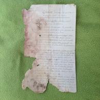 DH. Arc. 4. Vivier Constantin Joseph Conscrit De 1813, N*52 A Beloeil Réclame  Le Maintien Du Dépôt - Historische Dokumente