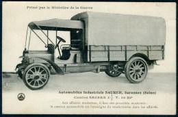 Automobiles Industriels SAURER, Camion - Suresnes