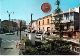 GIOIA TAURO PIAZZA MATTEOTTI REGGIO CALABRIA  ANNI 90 VIAGGIATA - Reggio Calabria