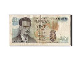 Belgique, 20 Francs, 1964, KM:138, 1964-06-15, TB+ - 20 Francs