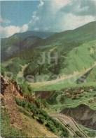 Mleta Village - Georgian Military Road - Postal Stationery - 1971 - Georgia USSR - Unused - Géorgie