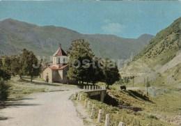 Mleta Cathedral - Church - Georgian Military Road - Postal Stationery - 1971 - Georgia USSR - Unused - Géorgie