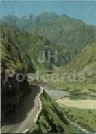Daryal Gorge - Georgian Military Road - Postal Stationery - 1971 - Georgia USSR - Unused - Géorgie