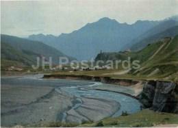 Sioni Village - Georgian Military Road - Postal Stationery - 1971 - Georgia USSR - Unused - Géorgie