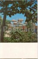 Summer Pavilion Cafe Druzhba (Friendship) - Bishkek - Frunze - Kyrgystan USSR - Unused - Kirghizistan