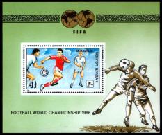 Bloc Sheet  Football  Soccer -  Coupe Du Monde -  World Championship   Neuf ** MNH - Mongolie 1986 - 1986 – Mexiko