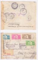 exceptionnelle lettre censu�e de MANAKARA a SAINT DENIS DE LA REUNION d�part le20 /12/43