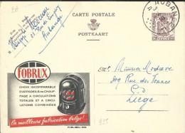 Publibel Obl. N° 935 ( Poëles Au Charbon; FOBRUX) Obl: Aubange (Prov. Du Lux.) 02/04/1952 - Publibels