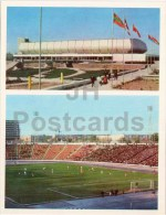 Palace Of Sports Yubileinyi - Pakhtakor Stadium Football  Tashkent - Large Format Card - 1974 - Uzbekistan USSR - Unused - Uzbekistan