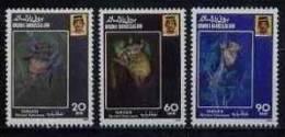 (004 B) Brunei  Animals / Tiere / Monkeys / Singes / Affen / Apen  ** / Mnh  Michel 421-23 - Brunei (1984-...)