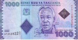 TANZANIE  1 000 Shillings  Emission De 2010     ***** BILLET  NEUF ***** - Tanzanie