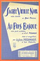 """Partition """" Sacrée Vieille Noix Et Au Pays Basque """" Valses De René Pascal Et Médinger - 14 Pages - Musik & Instrumente"""